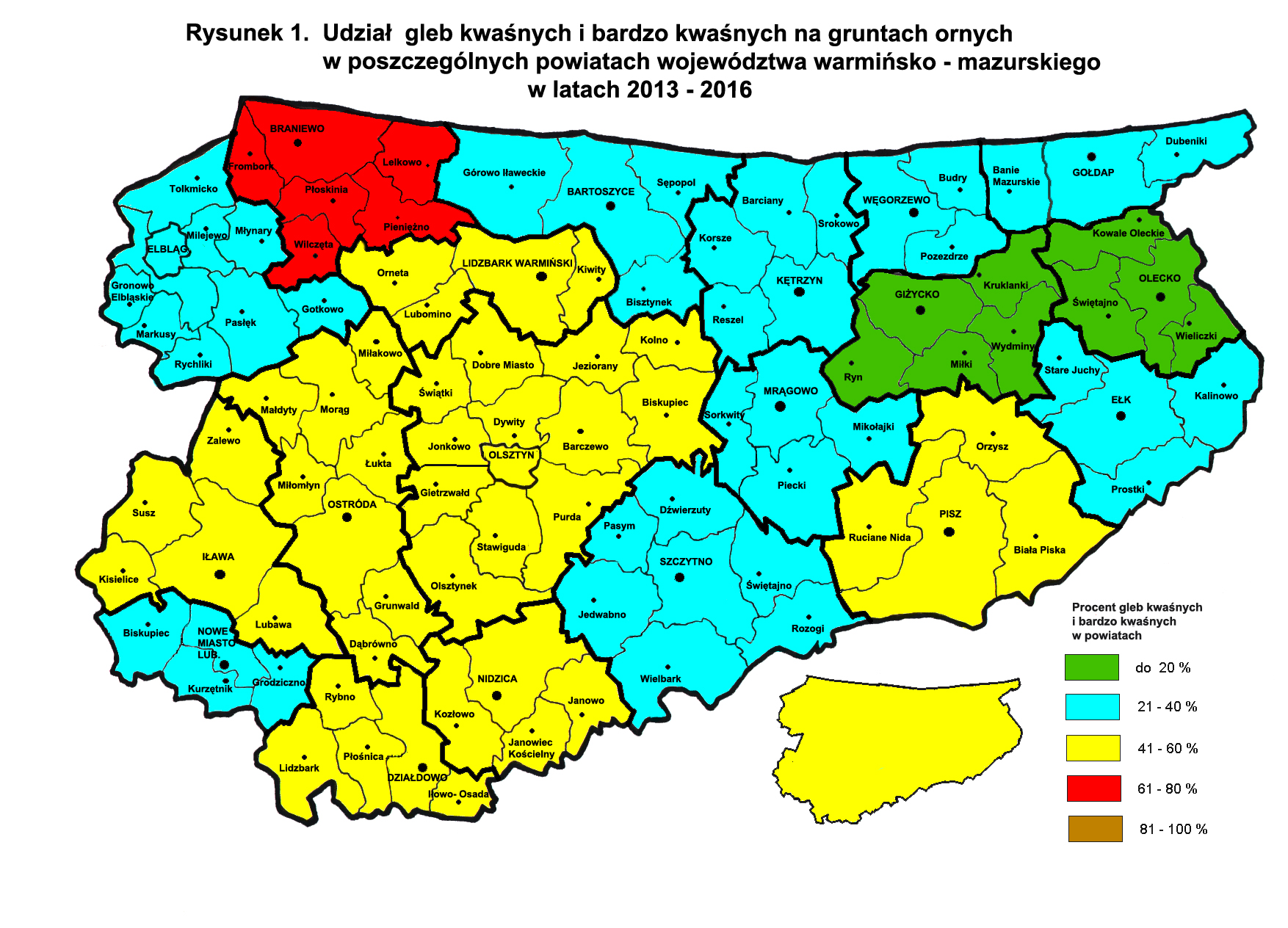 Mapa KW